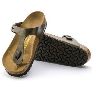 Birkenstock Gizeh Brown Thong Sandals